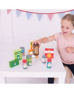 Bigjigs Wooden Toy Food Groceries