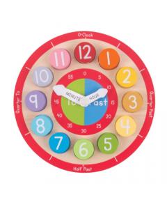 Bigjigs Toys - Teaching Clock