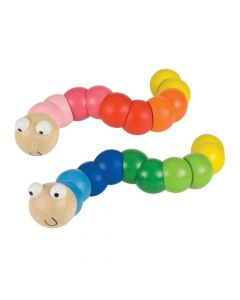Bigjigs Toys Wiggly Worm Wooden Activity Toy