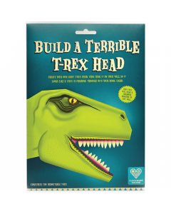 Build a Terrible T-Rex Head - Clockwork Soldier