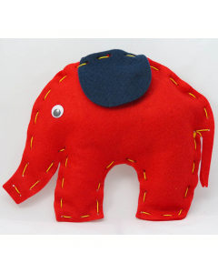Buttonbag First Sewing Kit Elephant