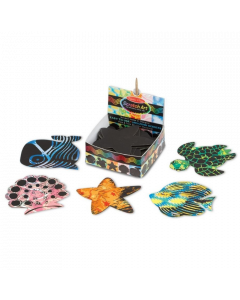 Melissa & Doug Ocean Scratch Art Mini Notes