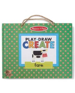 Melissa & Doug Play, Draw Create Farm