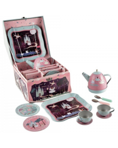 Floss and Rock - 11 Piece Musical Tin Tea Set Item