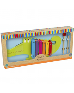 Crocodile Xylophone Orange Tree Toys