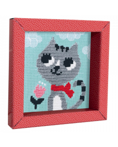 Cat Cross Stitch Picture