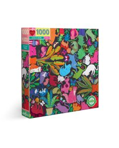 Eeboo Cats at Work 1000 + Piece Family Puzzle