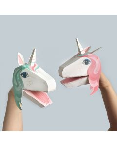 Make Your Own Unicorn Puppets