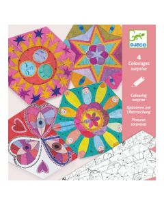 Djeco Colouring Surprise Constellation Mandalas