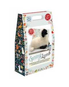 The Crafty Kit Co, Needle Felting Kit - Spring Lamb