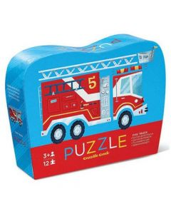 Crocodile Creek 12 piece Mini Puzzle - Fire Truck