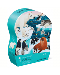 Crocodile Creek Arctic Animals 72 Piece Puzzle