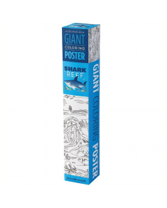 Crocodile Creek Giant Colouring Poster - Shark Reef