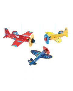 Djeco Little Big Rooms Hanging Planes