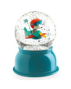 Djeco Night Light Snowglobe - Avion