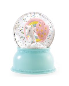 Djeco Unicorn Snowglobe Night Light