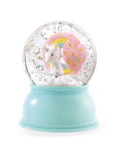 Djeco Unicorn Snowglobe Night Light