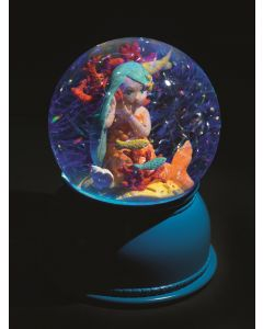 Djeco Mermaid Snowglobe Night Light