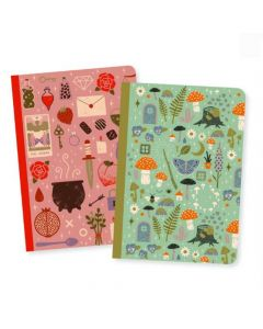 Camille Small Notebooks - Djeco Lovely Paper