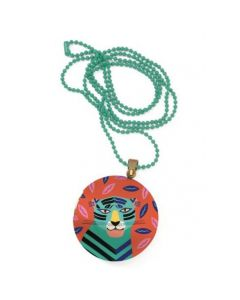 Djeco Lovely Paper - Lovely Surprise Feline Locket Necklace