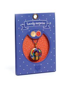 Djeco Lovely Paper - Lovely Surprise Totem Locket Necklace