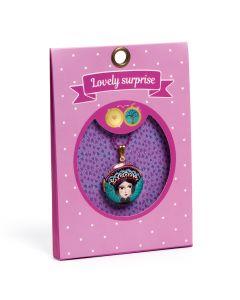 Djeco Lovely Paper - Lovely Surprise Tsarina Locket Necklace