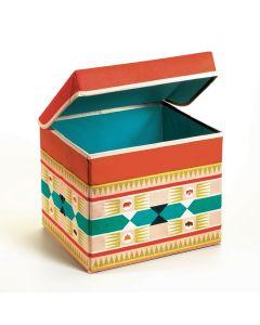 Djeco Seat Toy Box - Tipi