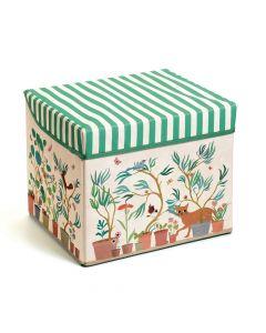 Djeco Seat Toy Box - Garden