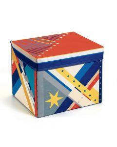 Djeco Seat Toy Box - Space