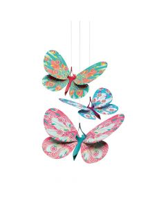 Djeco Little Big Room Hanging Decorations - Butterflies