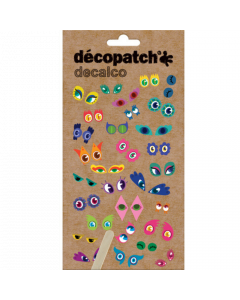 Decopatch Transfers - funny eyes