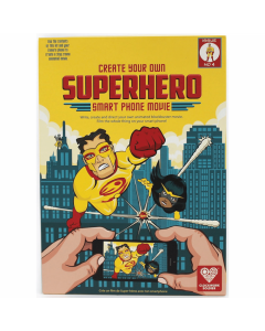 Design Your Own Superhero Smart Phone Movie Kit