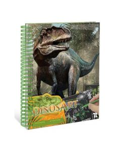 DinosArt Creative Book - Scratch & Sketch 15201