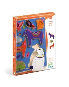 Djeco Relief Puzzles - Nora & Co