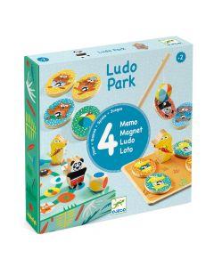 Djeco LudoPark - 4 games