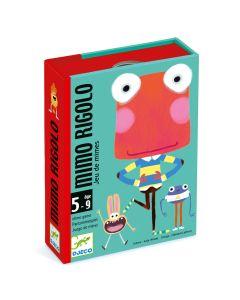 Djeco Card Games - Mimo Rigolo Miming Game