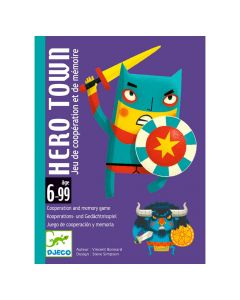 Djeco Card Games - Hero Town
