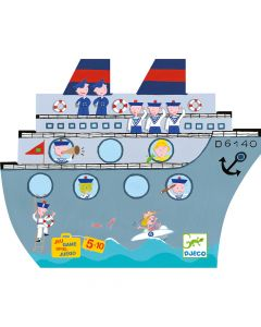 Battleships - Djeco Nomad Naviplouf