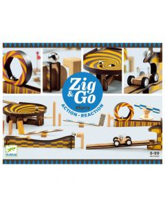 Djeco Zig & Go - Action - Reaction 45 pieces