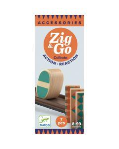 Djeco Zig & Go - Culbuto - 7 pcs