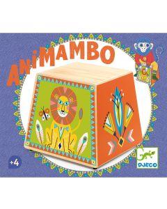 Djeco Animambo Cajon - Wooden Drum with Multiple Sounds DJ06014