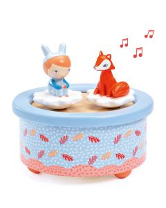 Djeco Magnetic Musical Box - Fox Melody