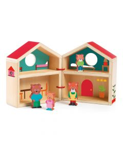 Djeco Wooden Mini House