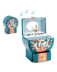 Djeco Wooden Musical Box - Poetic Tree