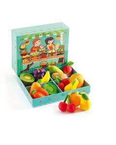 Fruit & Veg Mini Shop - Louis & Clementine by Djeco
