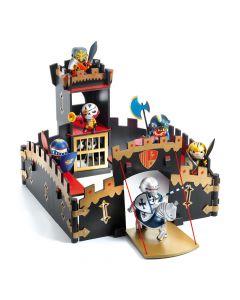 Ze Black Castel - Djeco Arty Toys Knights Castle