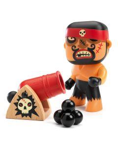 Djeco Arty toys - Pirates - Ric & Boumcrack