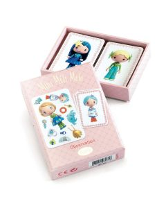 Djeco Tinyly Playing Cards - Mini Meli Melo