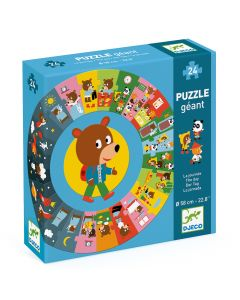 Djeco Giant Puzzles - The Day