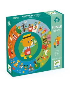 Djeco Giant Puzzles - The Year